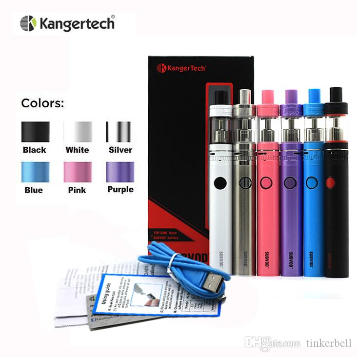 kangertech subvod starter kit how to get more watts