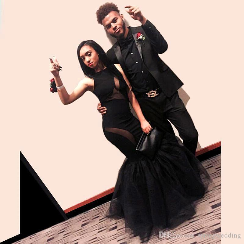 New Sexy Black Girl Prom Dresses 2k16 Couples Fashion Mermaid ...