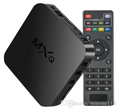 MXQ TV Box S805 Quad Core Stream Media Player 1G + 8G WIFI Support intégral pour
