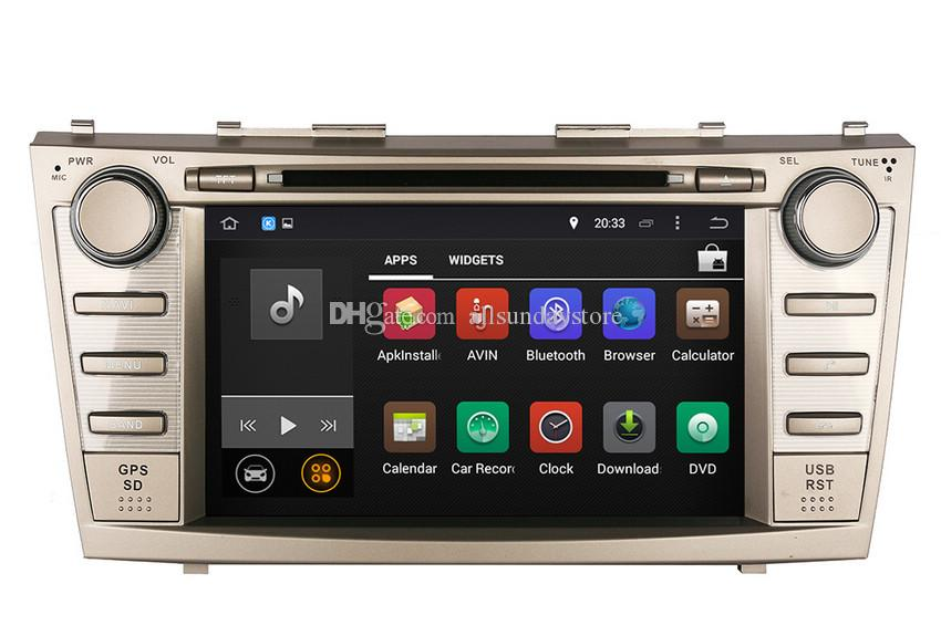 android 5 1 car dvd player gps navigation for toyota camry 2007 2008 2009 201. Black Bedroom Furniture Sets. Home Design Ideas