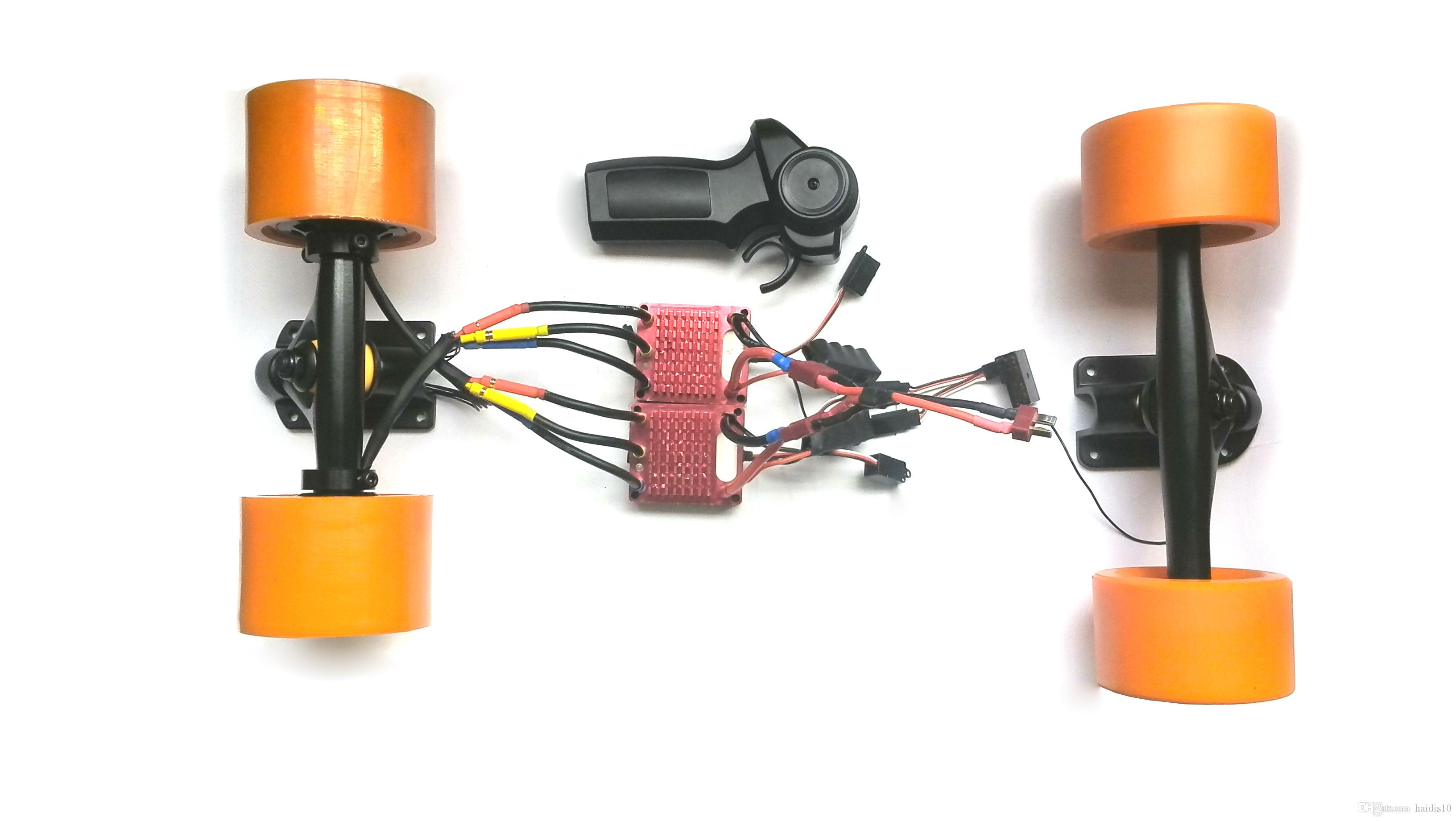 2017 Electric Skateboard 50mm Hub Motor Kit With The Front