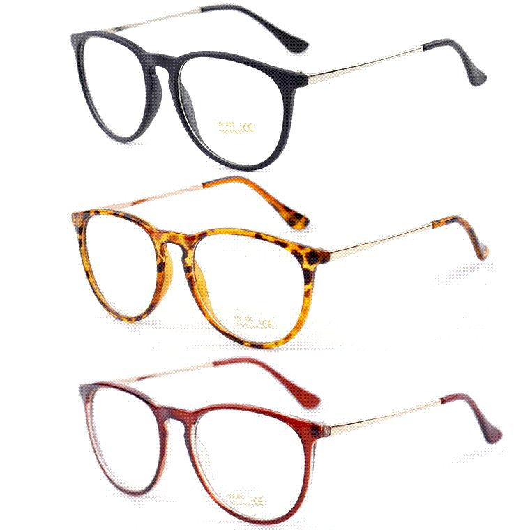 Retro Fashion 2016 Glasses Women Eyewear Vintage Round