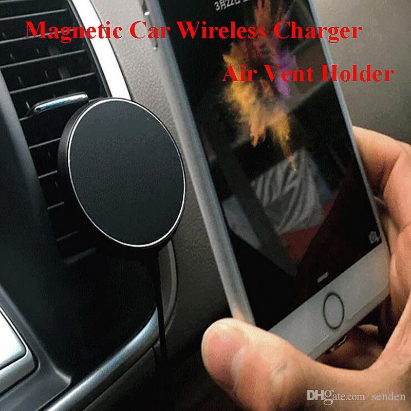 360 Degree Car Qi Wireless Charger Holder Magnetic Air