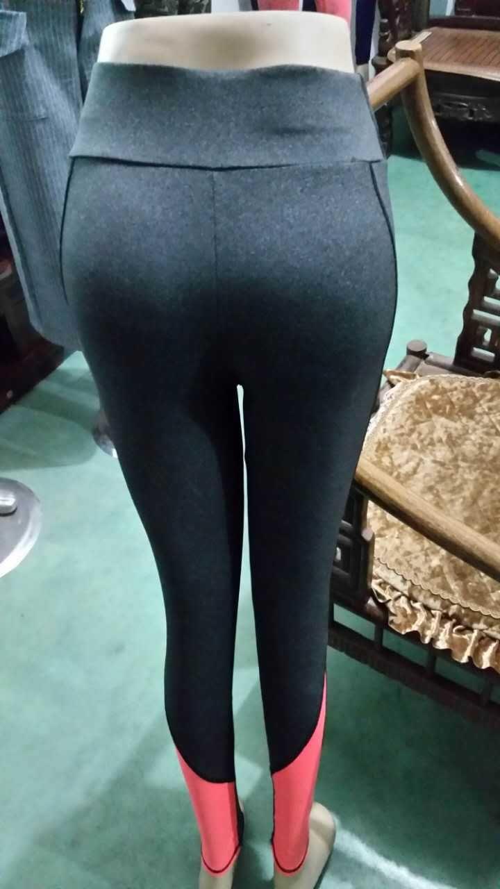 2017 Wholesale Women In Yoga Pants Stitching High Elasticity ...