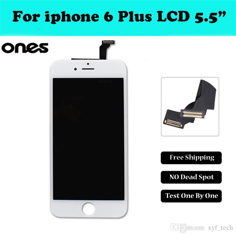 2016 for iphone 6 plus 5 5 inch lcd display glass touch screen digitizer aaa quality no dead