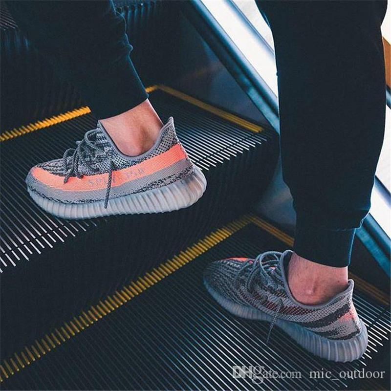 Adidas Yeezy Boost 350 v2 Grey & Orange