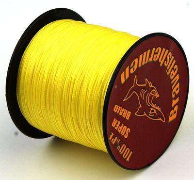 2017 1000m pe braided fishing line 4 strand pe for Colored fishing line
