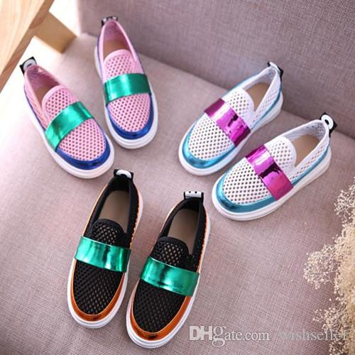 Hot Sale Summer Girl Boy Shoes Kids Shoes Tennis Shoes Flat ...