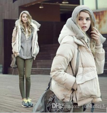 Fashion Warm Down Jacket Casual Loose Coat Winter And Autumn ...