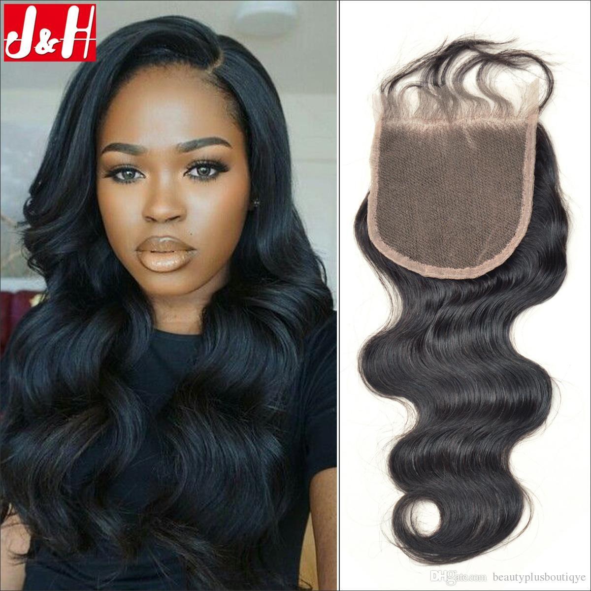 Where to buy hair closures - 8a Good Quality Top Lace Closure 4x4 Inch 8 22 Inch Brazilian Virgin Human Hair