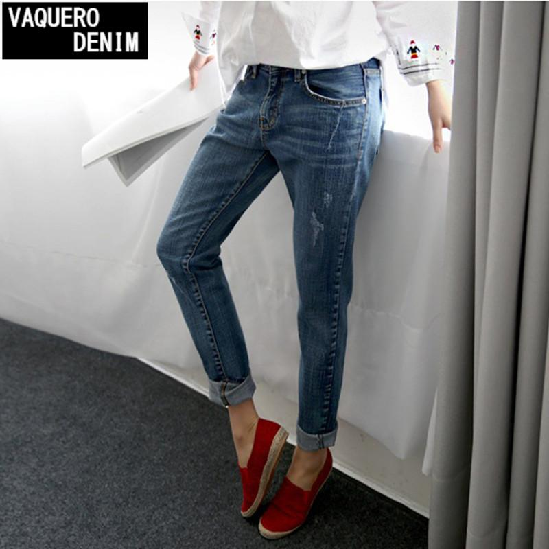 Best Boyfriend Jeans For Women 2016 Summer Basic Styles Vintage ...