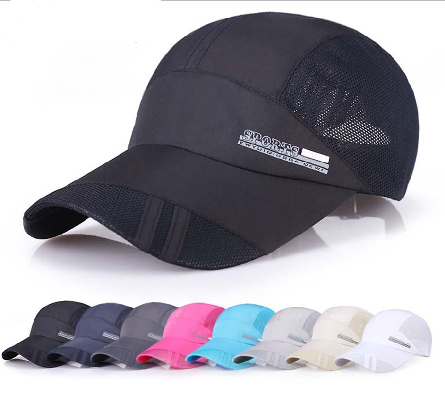Mesh cap black golf ball outdoor fishing baseball trucker for Mesh fishing hats