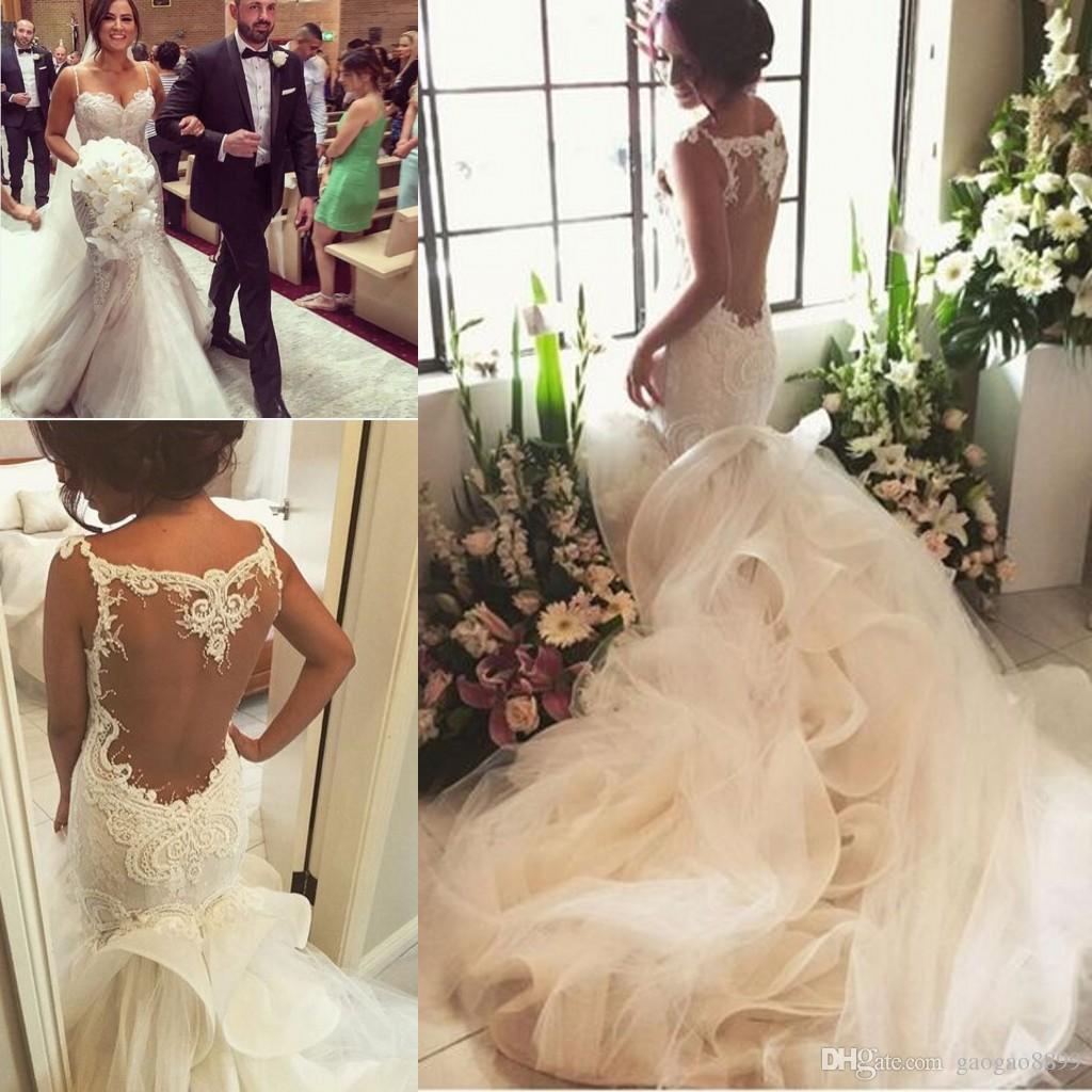 Steven khalil vintage mermaid lace wedding dresses 2016 for Steven khalil wedding dresses cost