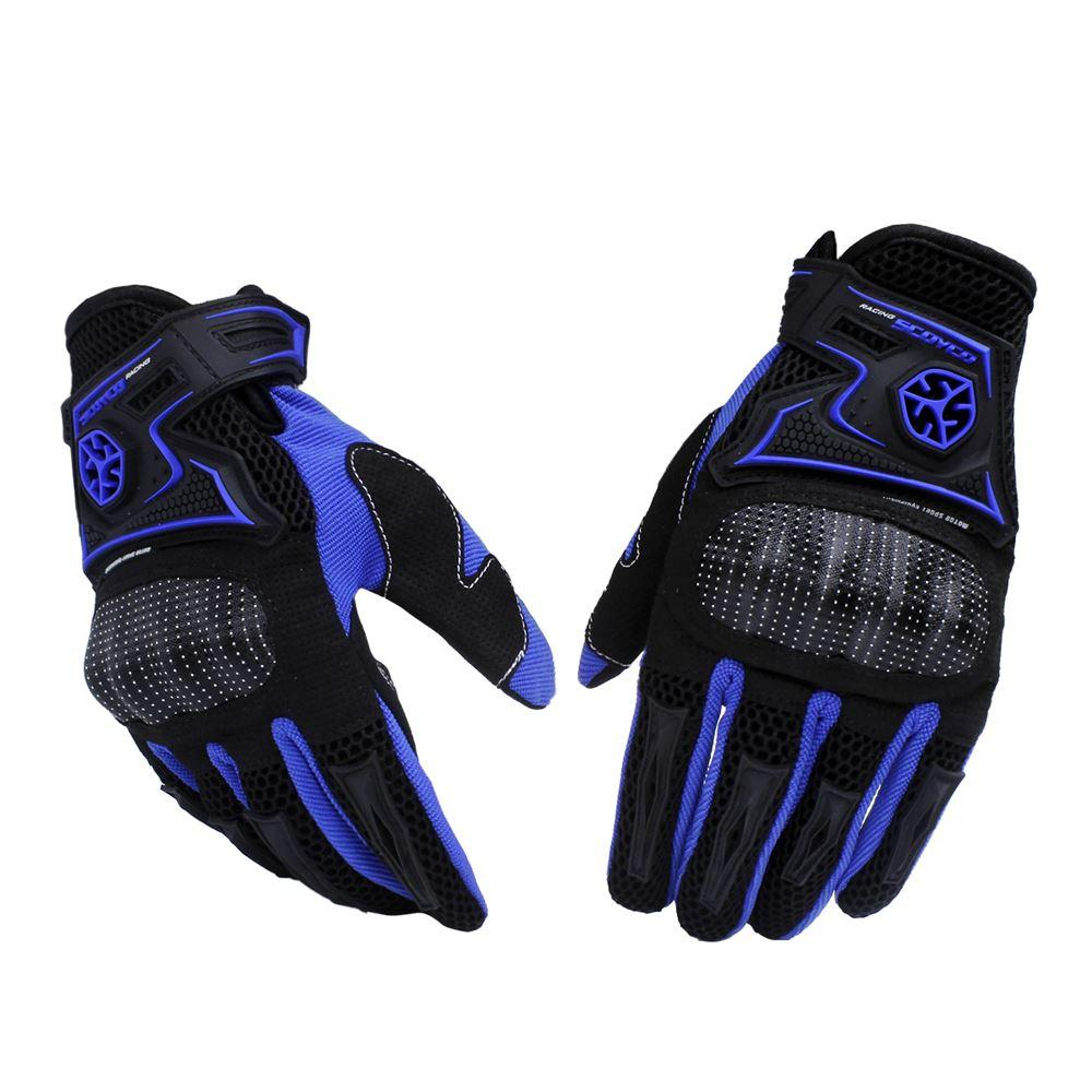 Motorcycle gloves ratings - Motorcycle Gloves Off Road Racing Gloves Drop Resistance Guantes Breathable Gloves Moto Luvas Alpine Motocross