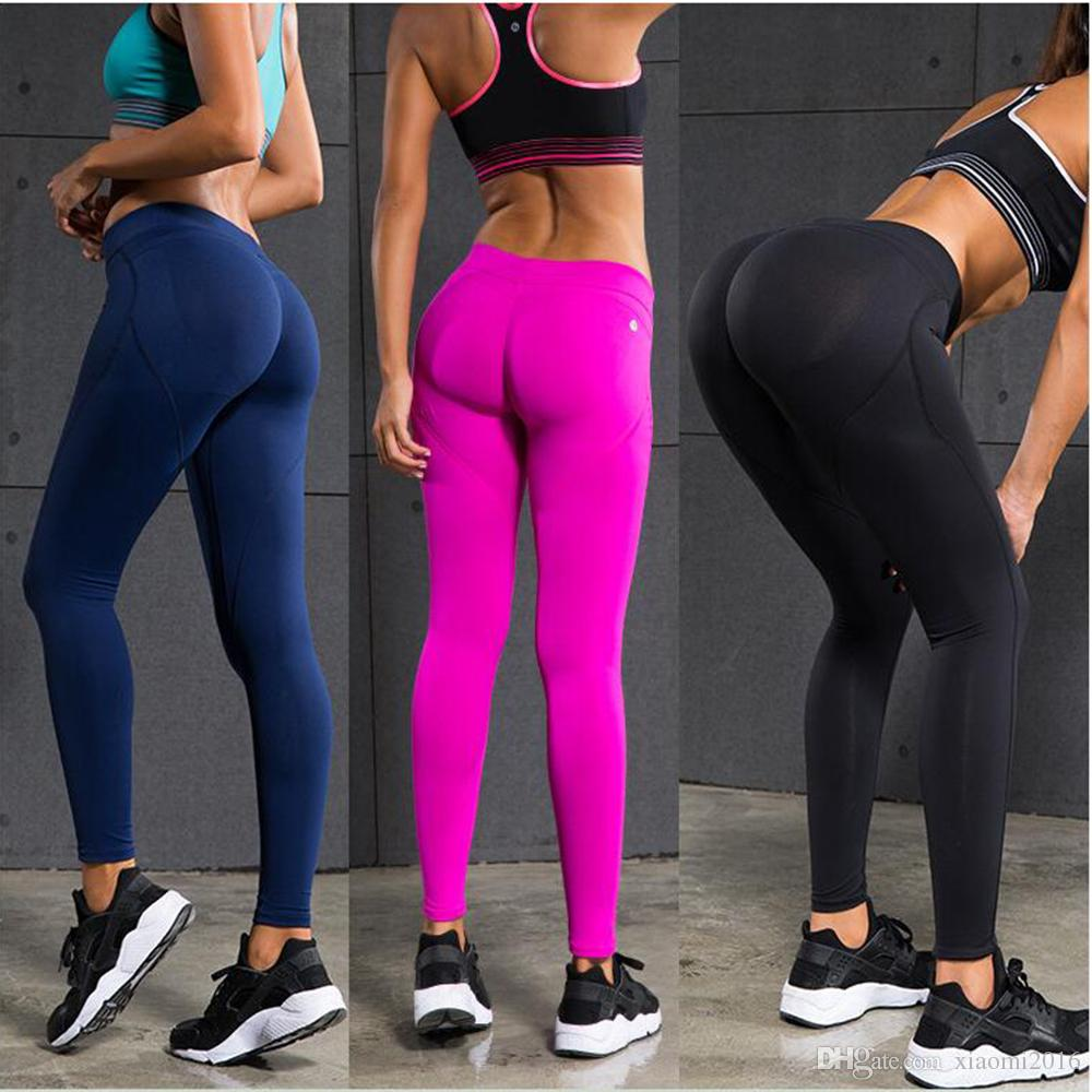 2017 Hot!!!new Sexy Hips Push Up Yoga Pants High Quality Women ...