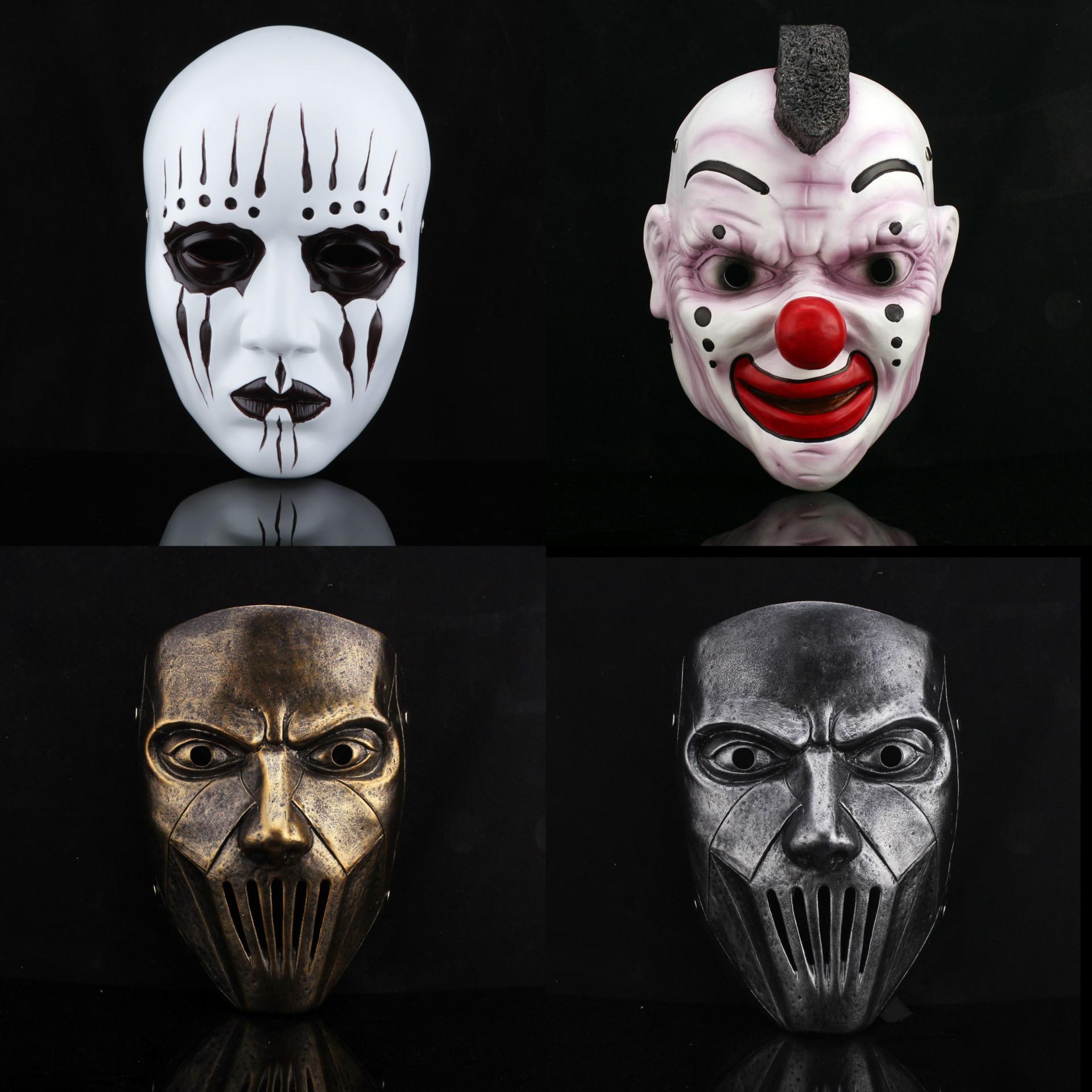 Slipknot's Theme Resin Band Slipknot Joey Lead Singer Mask ...
