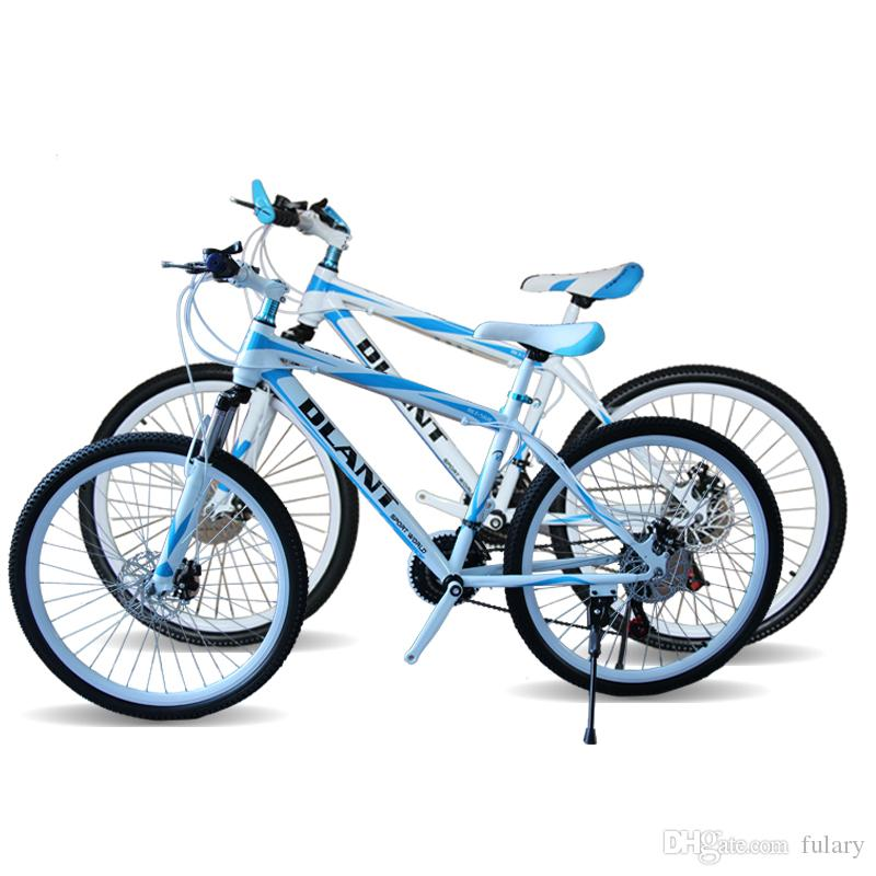 DLANT Mountain Bike For Men 26 pouces 21 vitesses double amortissement double fr