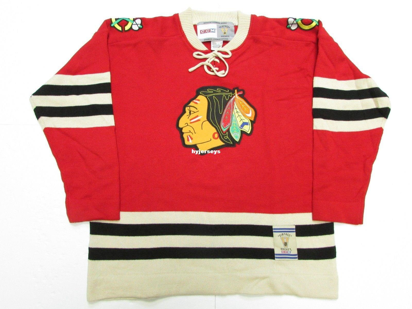 Find Efficient China Wholesale Supplier Thatrrrs Available cheap custom chicago blackhawks red vintage