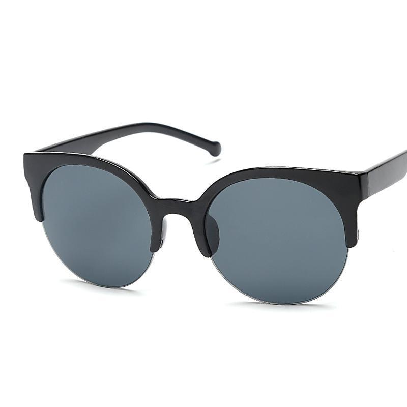 Image result for semi-round sunglasses frames