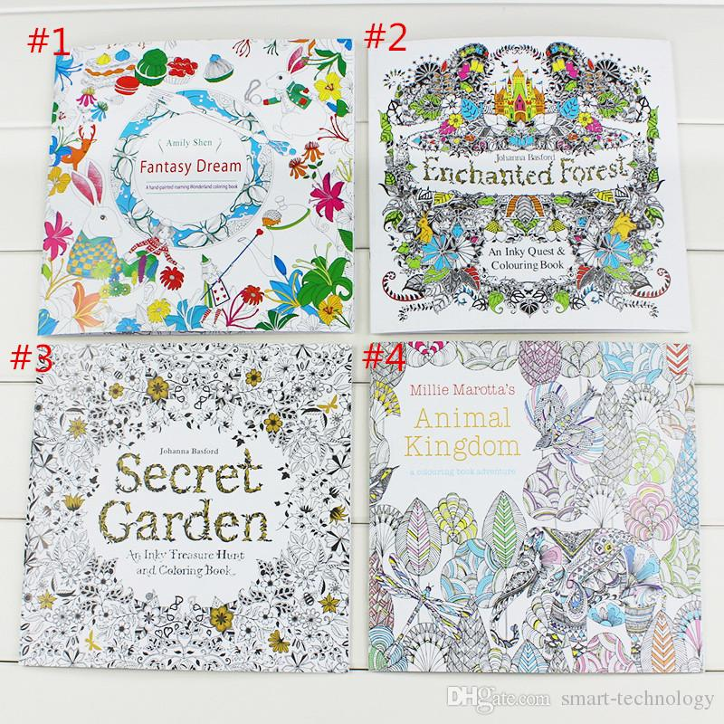 Best Quality 24 Pages Secret Garden Fantasy Dream