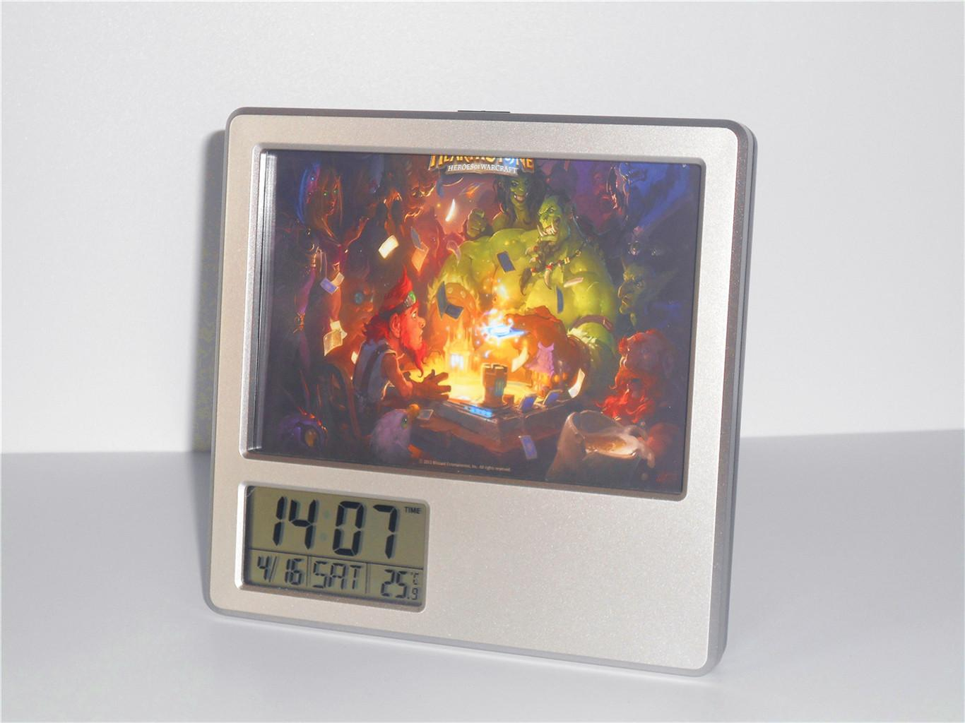 Creative Digital Calendar 2017 new cards creative digital alarm clock multi function desk
