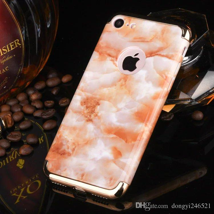 Marbling case Marble Stone Pattern 3end1 pc Silicone Case iPhone 7 6S 4.7 Plus 5.5 Gel Fashion Rubber Cell Phone