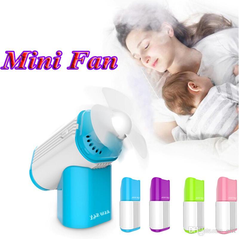 Cooling Fan To Sleep : Portable mini perfume turbine usb fan handheld air