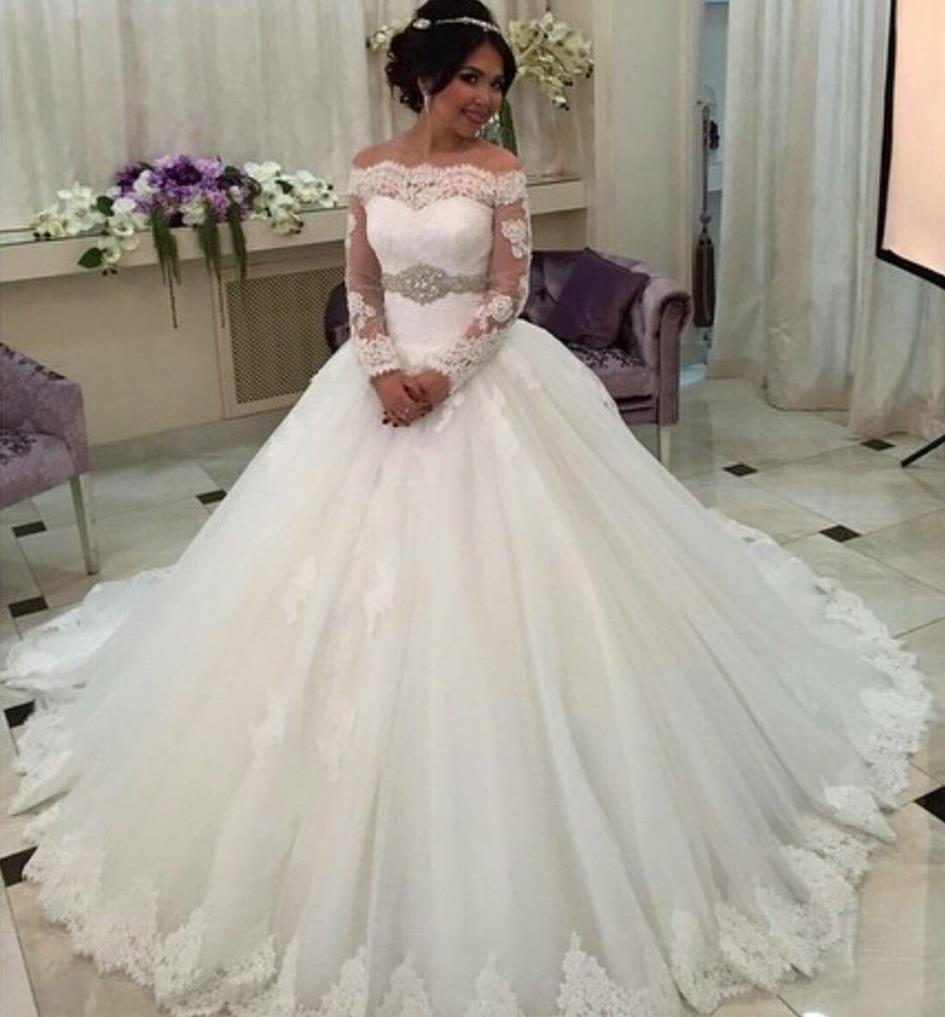 Discount vintage plus size wedding dresses off shoulder for Plus size off the shoulder wedding dress