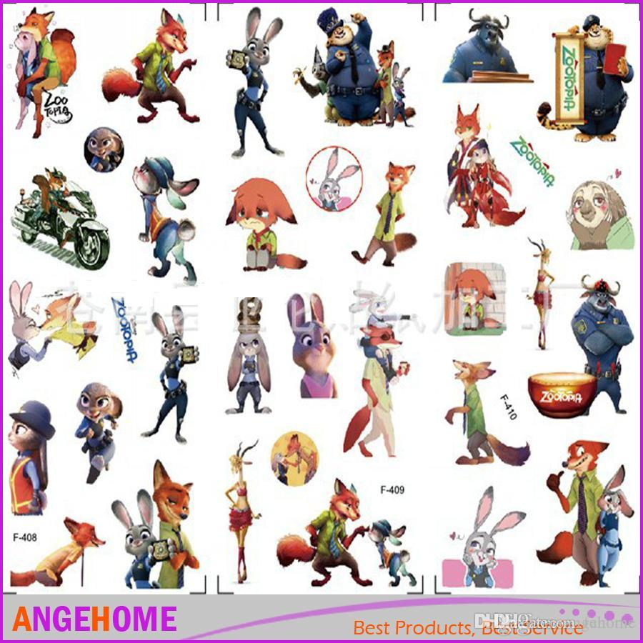 new arrival zootopia stickers 3d cartoon bubble stickers judy nick cheap disney zootopia stickers best stickers dressing