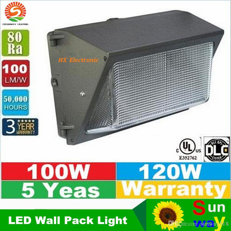 Hyperselect Led 100w Wall Pack Light: 2017 Wall Pack Led Lighting 100w 120w 110lm W Led Retrofit