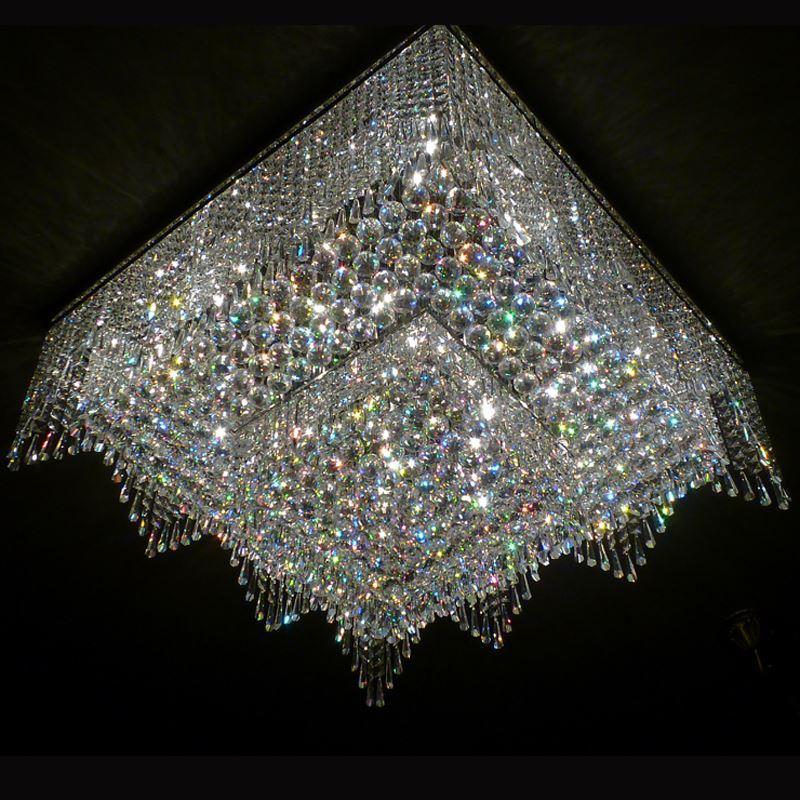 Nnew Luxury Design Large Modern Chandelier Lighting Crystal Lamp ...