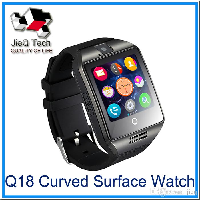 Q18 Apro montre Smart Watch 1,54 pouces HD NFC Bluetooth 3.0 Support de carte Si