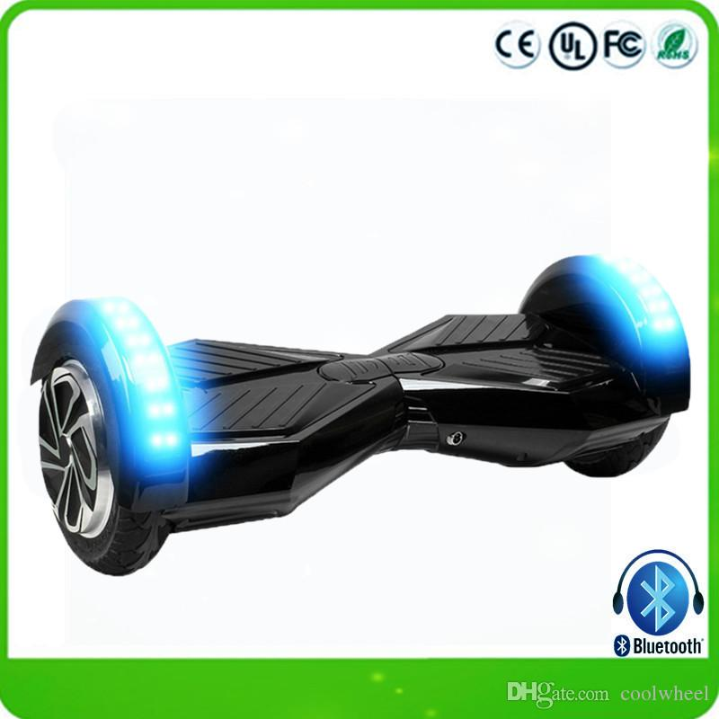 2017 drop shipping 8 inch hoverboard bluetooth 2 wheels hoverboard electric scooters unicycle. Black Bedroom Furniture Sets. Home Design Ideas