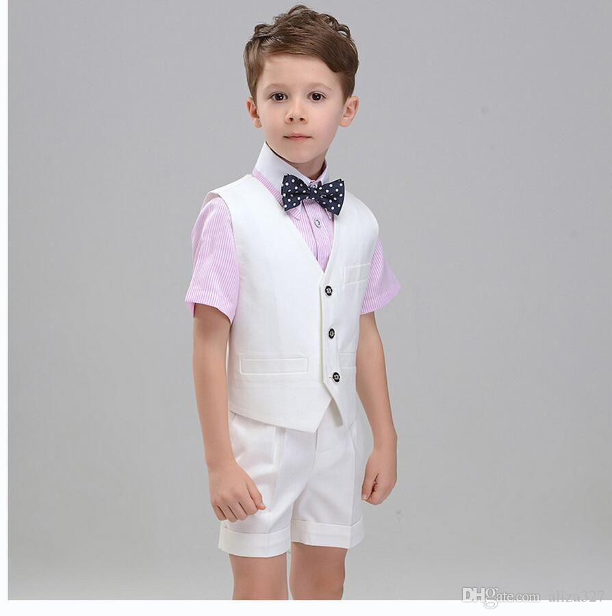 Handsome Boy Shorts In Summer Dress Birthday Party Dress High ...