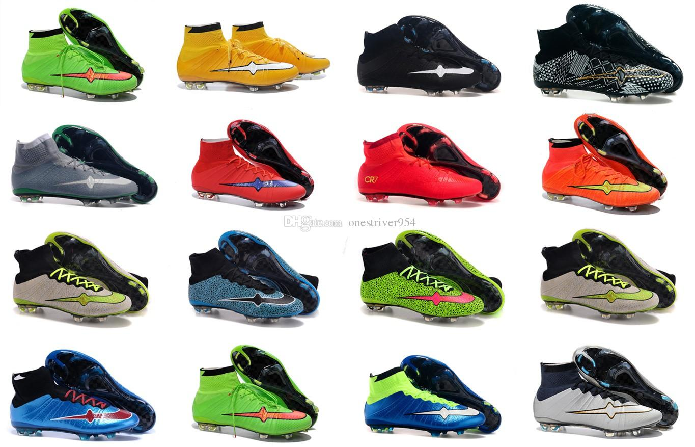 2017 High Ankle Soccer Cleats 2016 Good Quality Superfly Cr7 ...