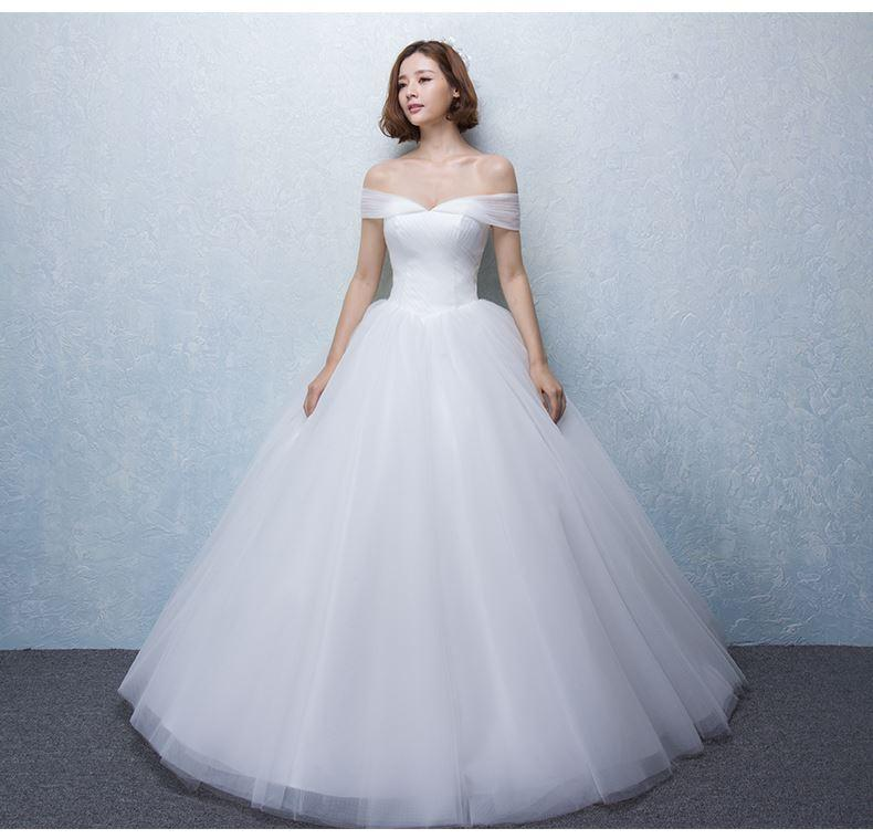 discount 2016 new vestido de noiva wedding dress new bride princess