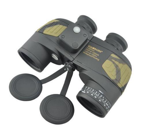 Visionking 7x50 Waterproof Binoculars Compass Range Finder ...