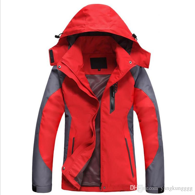 2017 Windproof Warm Womens Windbreaker Jackets Coats Best Cheap ...