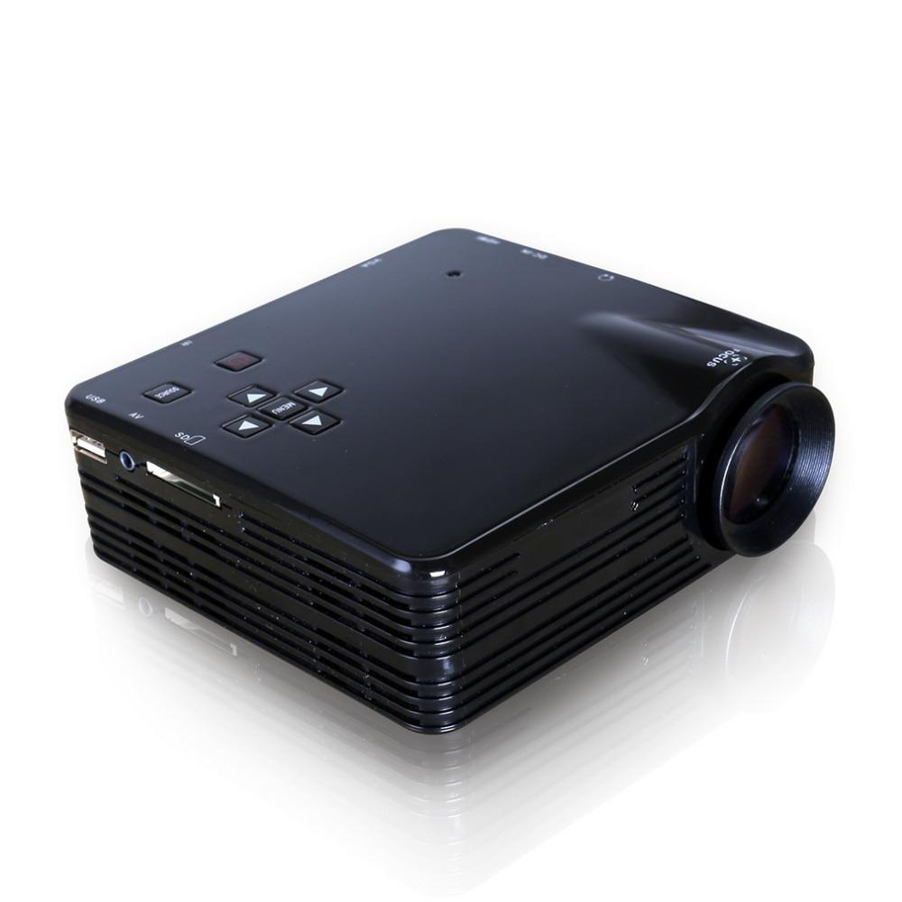 Us plug protable mini lcd projector hdmi led multimedia for Projector tv reviews