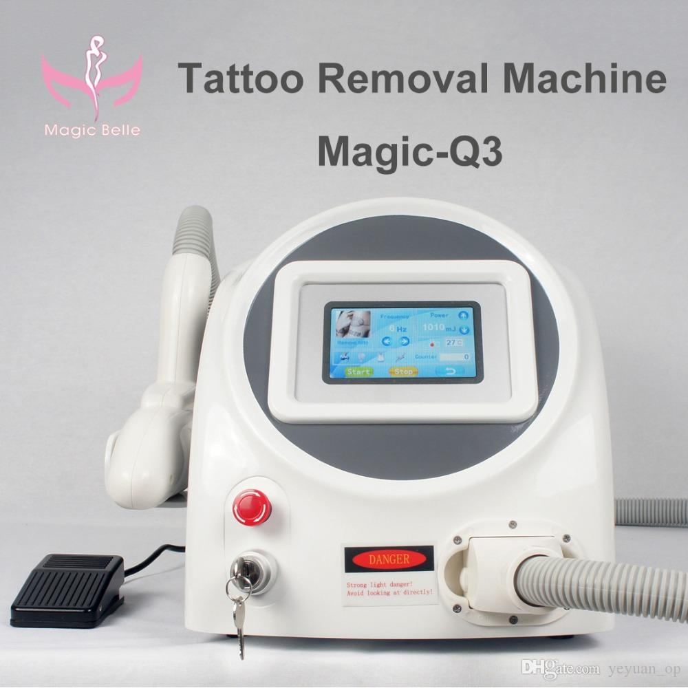 Professional laser tattoo removal machine tabletop nd yag for Laser tattooing machines