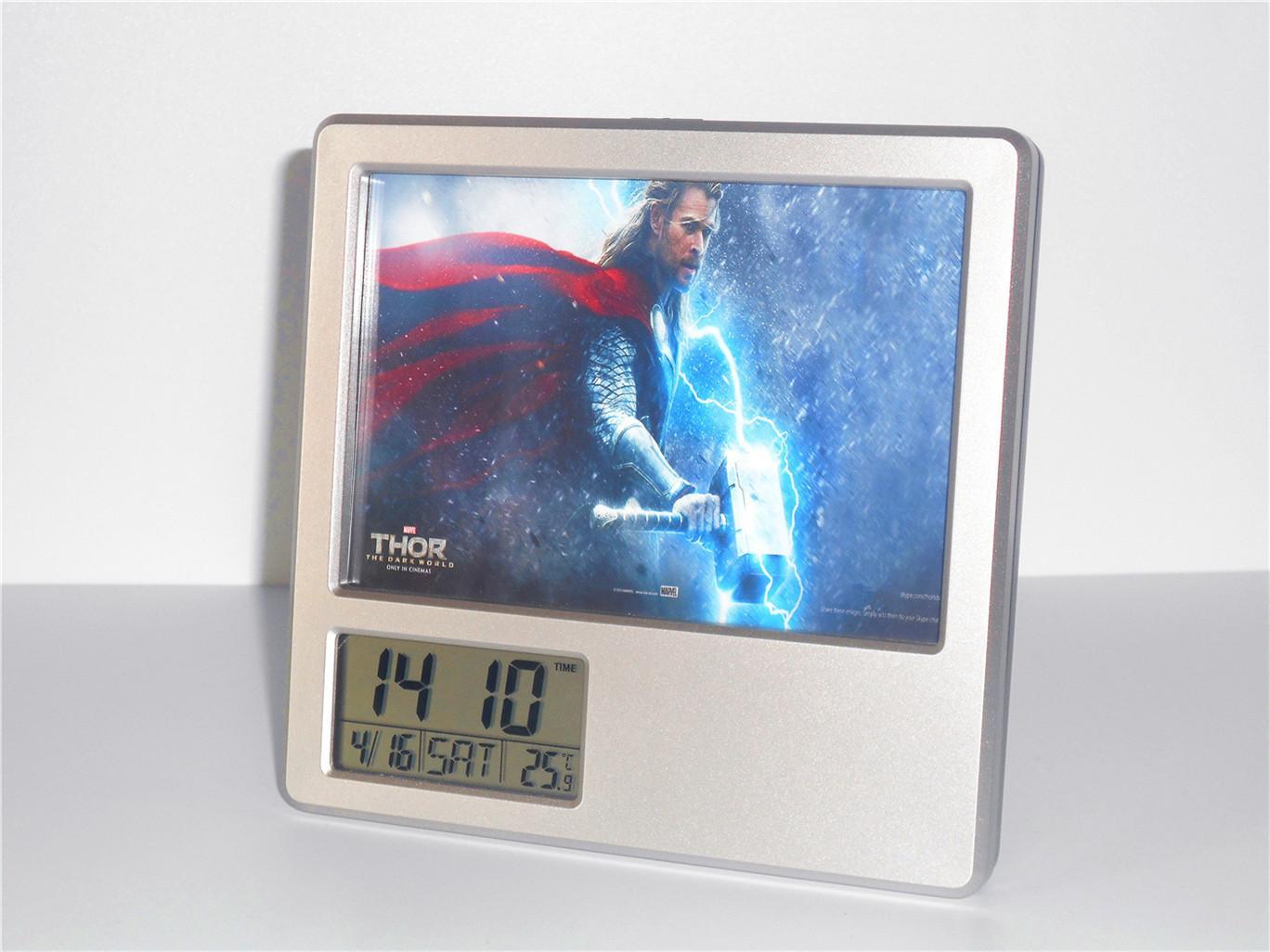 Creative Digital Calendar creative digital calendar avengers thor alarm clock multifunction