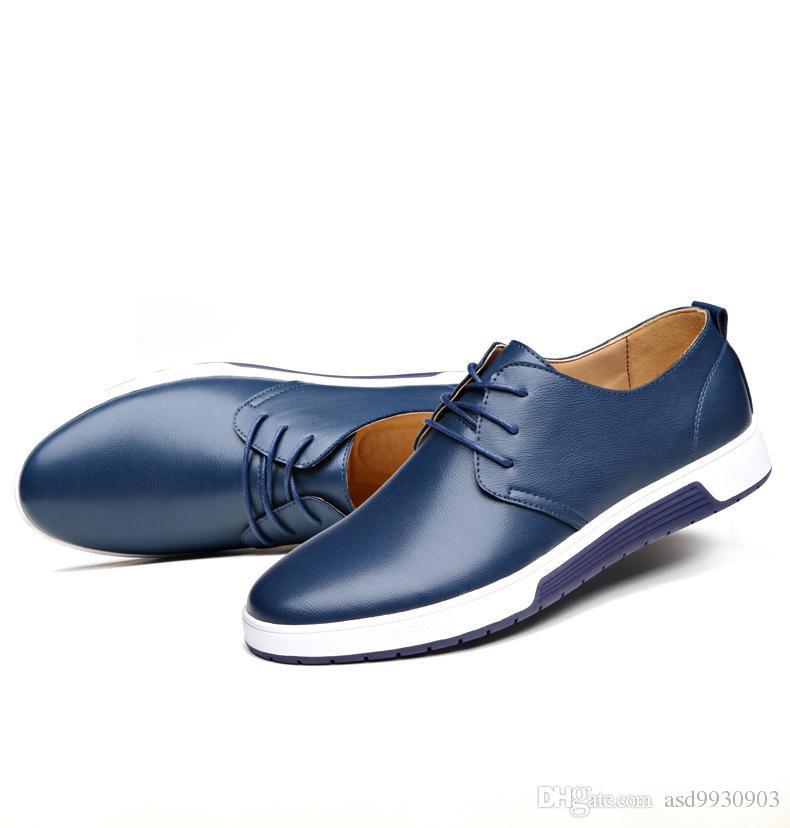 wholesale 2016 recreational shoe leather s shoes suits
