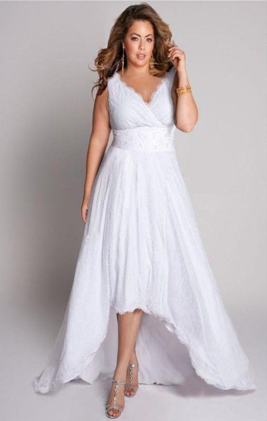 Discount white lace plus size wedding dresses 18w 20w 22w for High low wedding dresses for sale