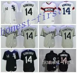 2016 pas cher 14 Paul Konerko Jersey Baseball Flexbase Chicago White Sox Jerseys