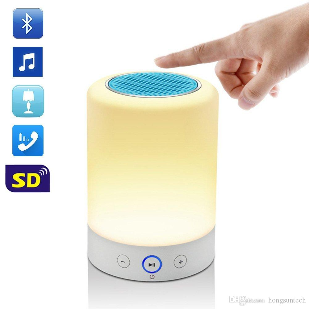 Romantic Lighting Bluetooth Speaker With Led Playing