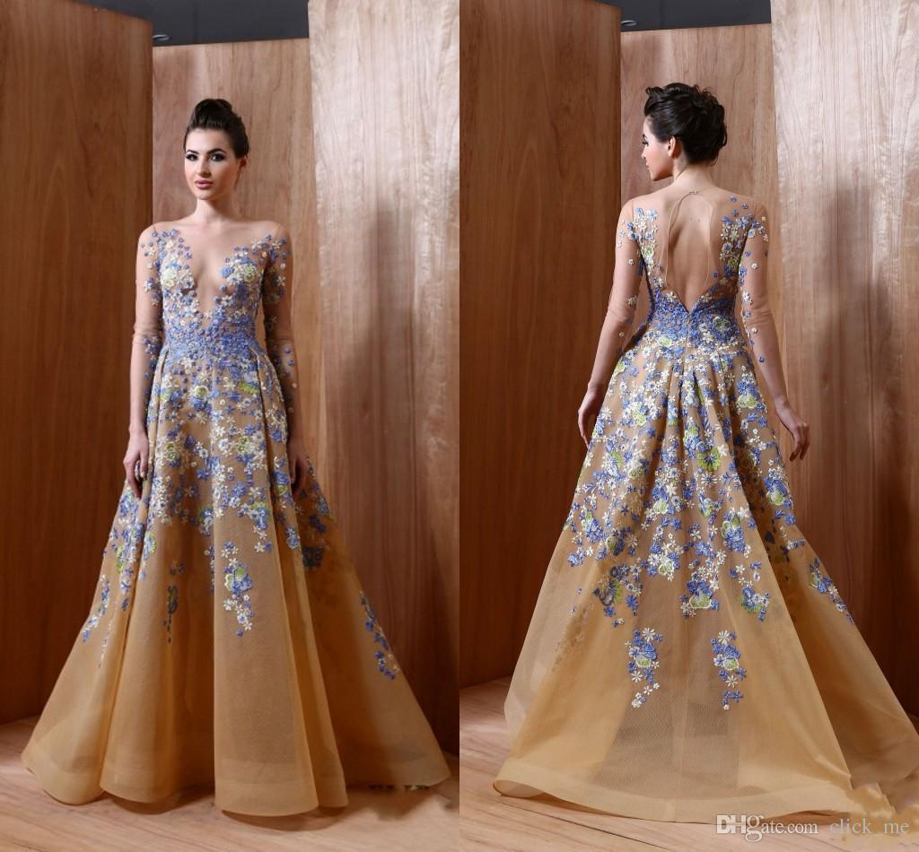 Celebrity Long Dresses 2017 7