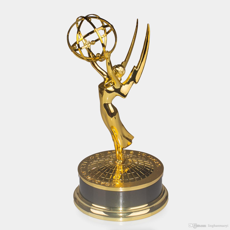 2017 Emmy Trophy 1:1 Full Size 39cm Hight Emmy Award ... Emmy Awards