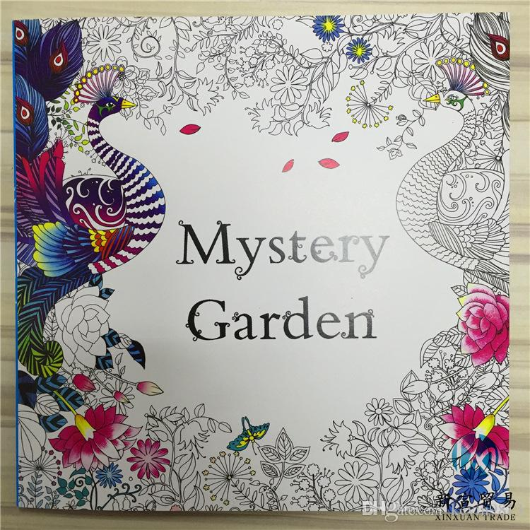 Newest 48 Pages Coloring Books Drawing Enchanted Forest Fairy Tales And Magical Dreams Secret Garden