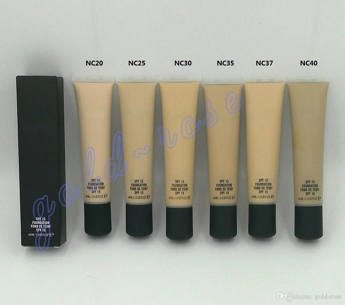 Hot Makeup Foundation SPF 15 Concealer Foundation 40ML+GIFT