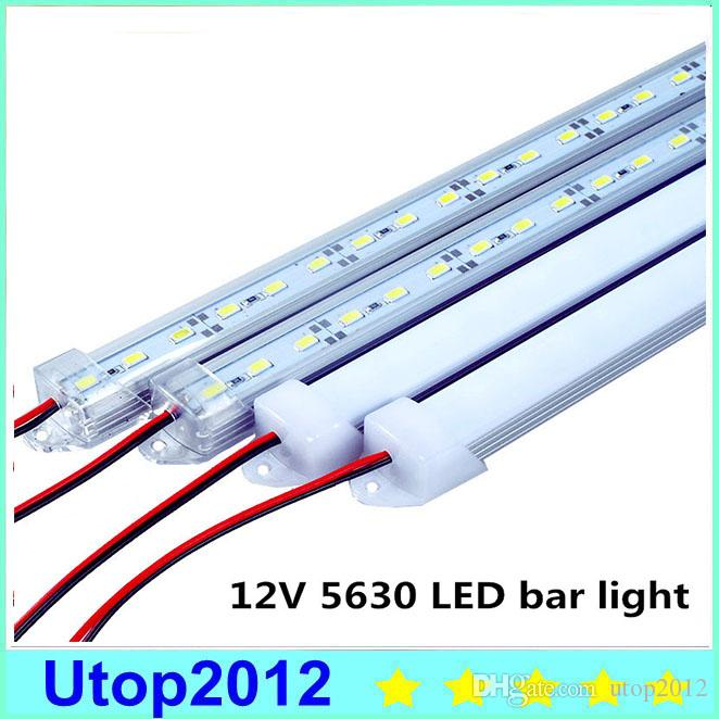30% DC12V 5630 LED Bar Light 5630 Avec PC Cover 50cm / 36leds LED rigide Light 5